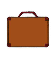 Travel suitcase icon image vector