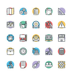 Engineering Cool Icons 2 vector image