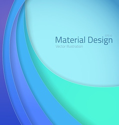 Bright Colorfull Material Design Abstract Lines vector image