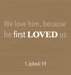Bible quote typographic vector