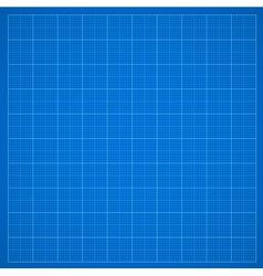Blue grid paper vector