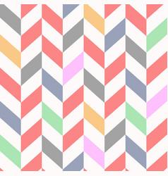 Colorful seamless chevron pattern beautiful vector