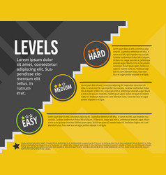 Degree infographic made of vector