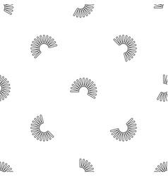 Flexible wire coil pattern seamless vector
