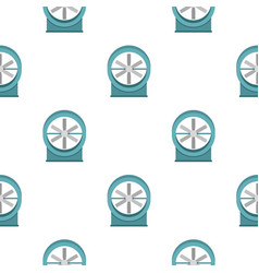 Metal electric fan pattern seamless vector