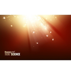 Science color background vector image