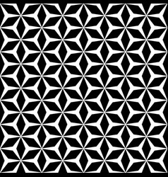 Simple repeat geometric texture polygonal floral vector