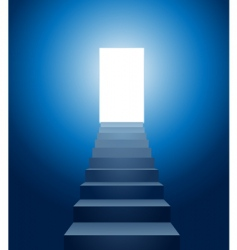 stairways to heaven vector image