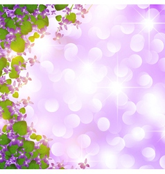 holiday wild violet vector image vector image