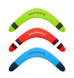 Boomerang vector image vector image