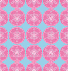 Abstract asian floral seamless pattern vector