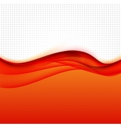 Abstract Colored Wave Background vector image vector image
