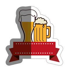 beer drink design vector image