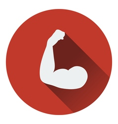 Bicep icon vector image