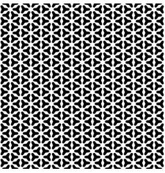 Black white smooth triangular geometric figures vector