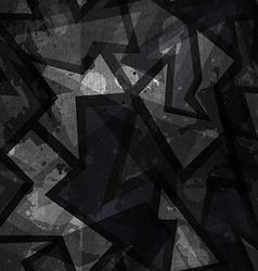 Grunge black seamless texture vector