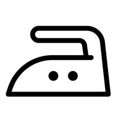 Iron medium temperature icon outline style vector