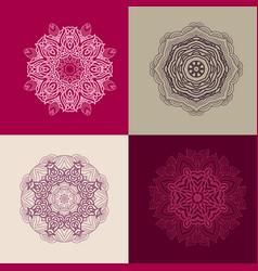 Mandala collection vector