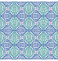 modern stylization indian patterns vector image