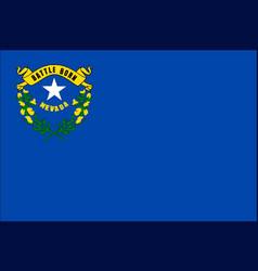 nevada state flag vector image