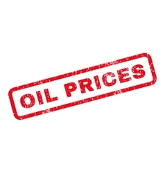 Oil Prices Rubber Stamp vector image