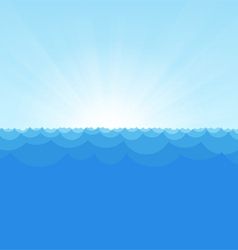 Sea Simple Background copy vector image