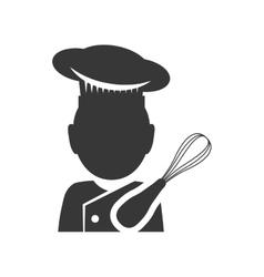 Traditional bakery shop design vector