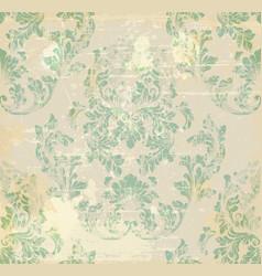 vintage baroque ornament royal victorian vector image