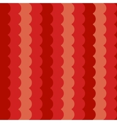Wave pattern vertical red abstract waves vector