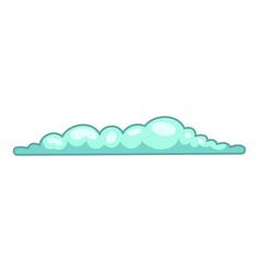 spring cloud icon cartoon style vector image