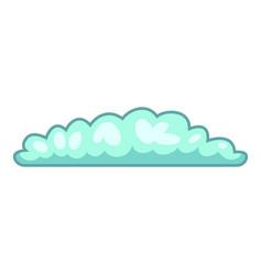 cyclonic cloud icon cartoon style vector image