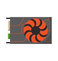 Video card vector image vector image