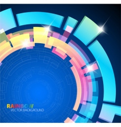 abstract background with rainbow colors vector image vector image