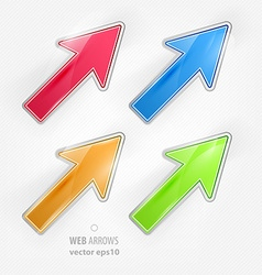 Arrow Design Set vector image