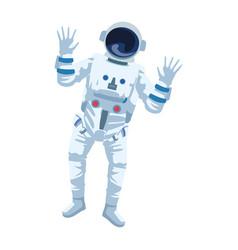 Astronaut icon image flat design vector