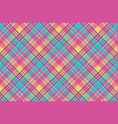 Bacolor plaid seamless pattern vector