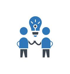 brain storm idea icon sign symbol vector image