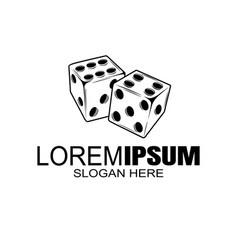 emblem or logo casino gambling house vector image