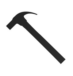 isolated hammer icon vector image