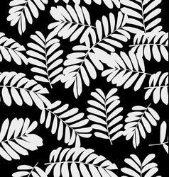 leaf pattern background3 vector image