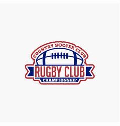 Rugclub badges logo-5 vector