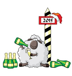sheep alko vs vector image
