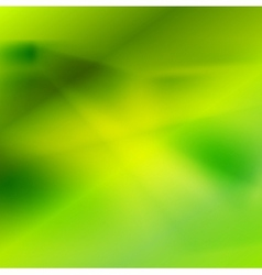 Shiny abstract green blurred background vector