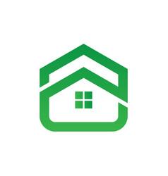 home building icon logo image vector image vector image