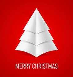 MERRY CHRISTMAS Corner paper 11 vector image vector image