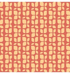 Retro fabric pattern vector image vector image
