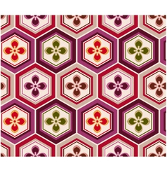 seamless japanese floral pattern vector image vector image