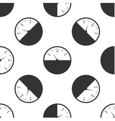 fuel gauge icon seamless pattern vector image vector image