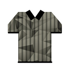 Referee jersey stripes american football abstract vector