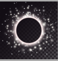 Black hole light effect vector